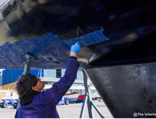 La prova di una antivegetativa rivoluzionaria : Crystal Boat di Coverplast